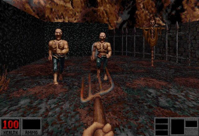 Blood classic violent game