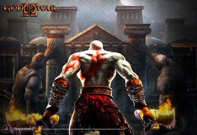 god of war 2 violent game