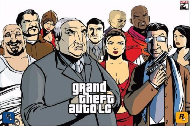 Grand theft auto series games