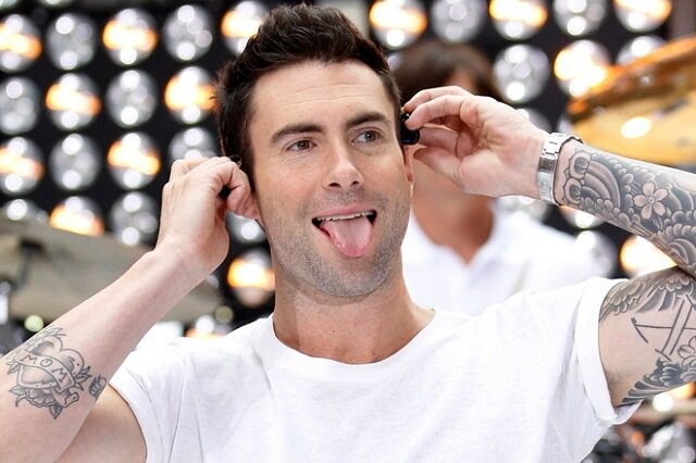 adam levine handsome men