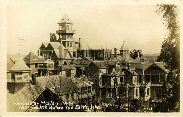 The mysterious Winchester House, haunted places