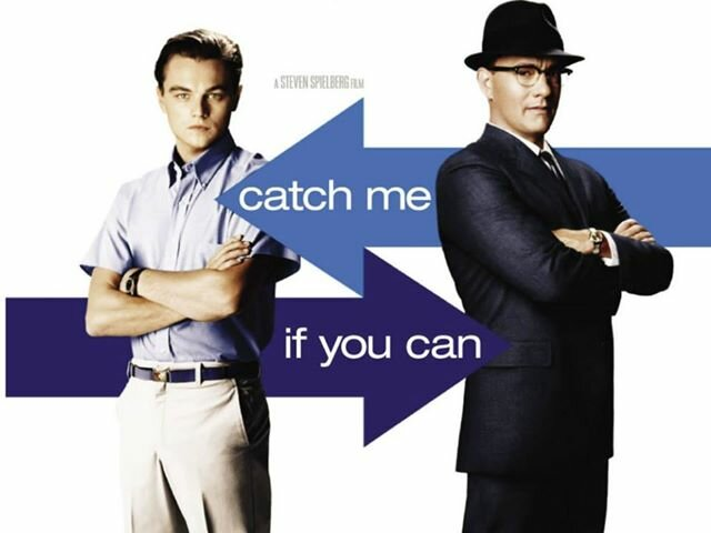 catch me if you can, movies based on true stories