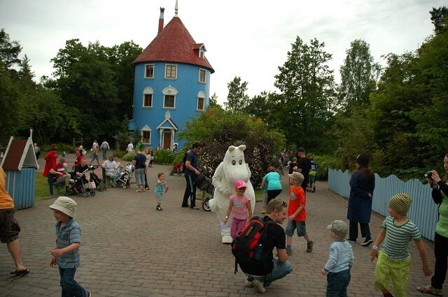 Moominhouse, Finland, places to visit