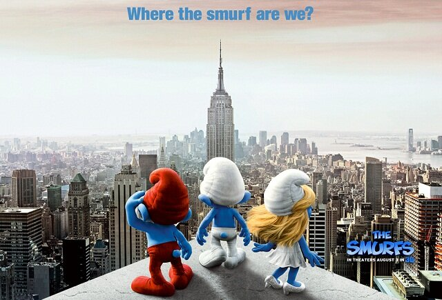 The Smurfs, best comedy movies