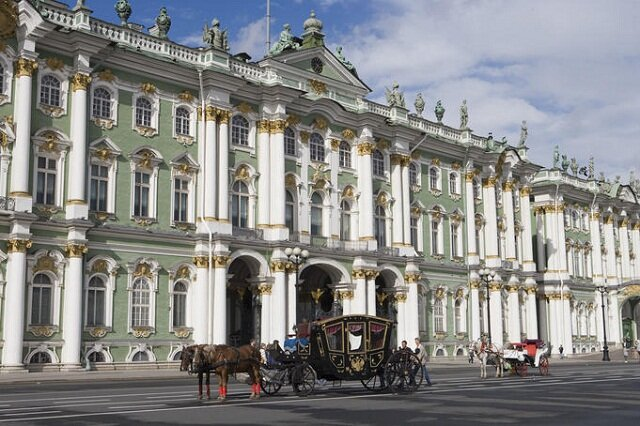 Winter Palace, St. Petersburg, Russia, largest palaces in the world