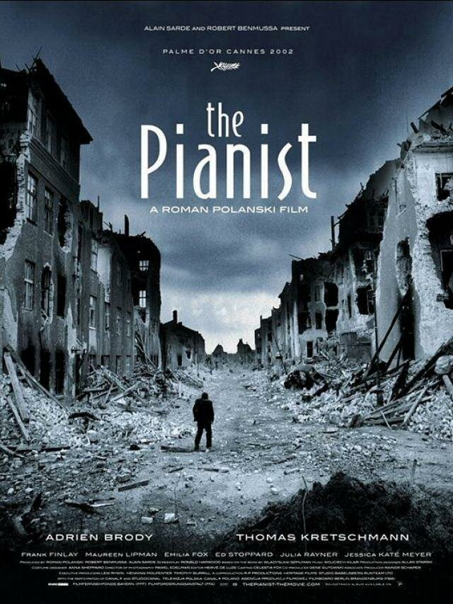 the pianist, movies based on true stories