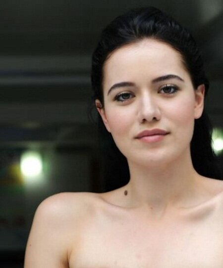 Fahriye Evcen, beautiful turkish actress
