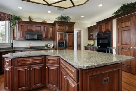 Create Visual Consistency by Bringing in Lovely Kitchen Cabinets