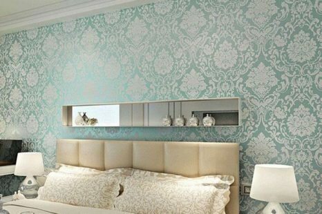Wallpaper Blue: The Perfect Way to Accent any Room