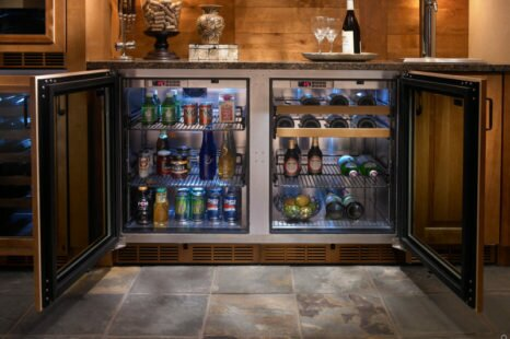 Beer Fridge With Glass Door: The Perfect Accessory For Your Man Cave